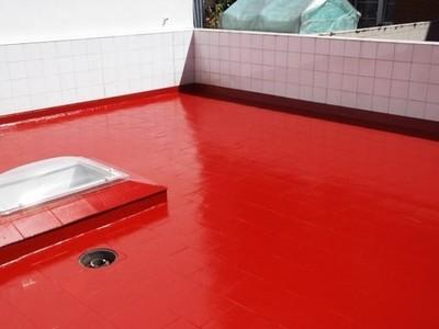 Impermeabilización de terraza con membrana líquida